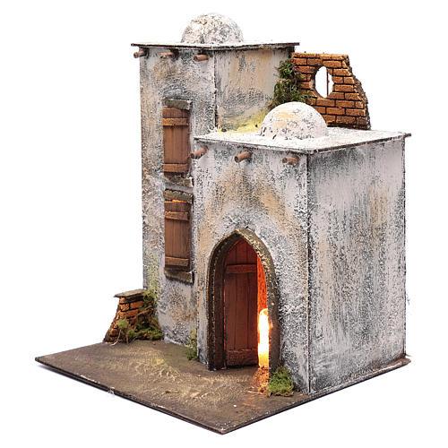 Arabian style house for Neapolitan nativity scene 2