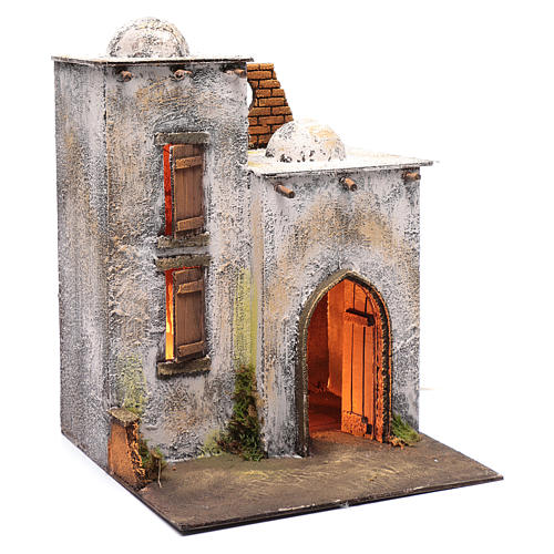 Arabian style house for Neapolitan nativity scene 3