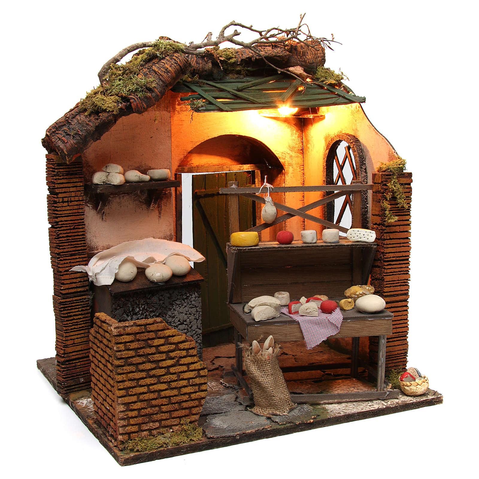 Creamery Shop Neapolitan Nativity 4
