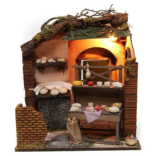 Creamery Shop Neapolitan Nativity 1