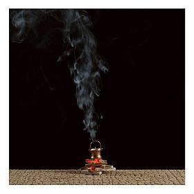 Olla sobre fuego con máquina de humo 4,5 V s2