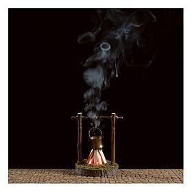 Casserole et feu de bivouac 4,5 V s2