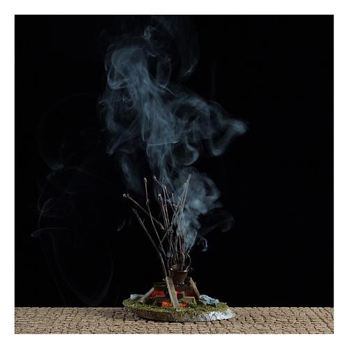 Pot on bonfire 10x10x5 cm - 4,5 V 2