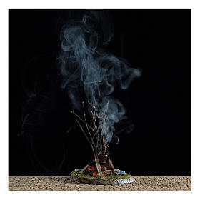 Pentola su fuoco bivacco10x10x5 cm - 4,5 V s2