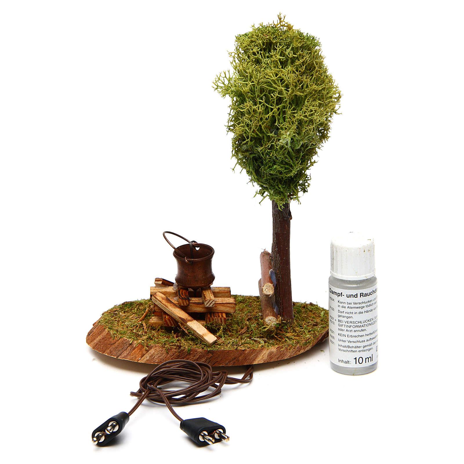 Scena bivacco e albero di lichene 4