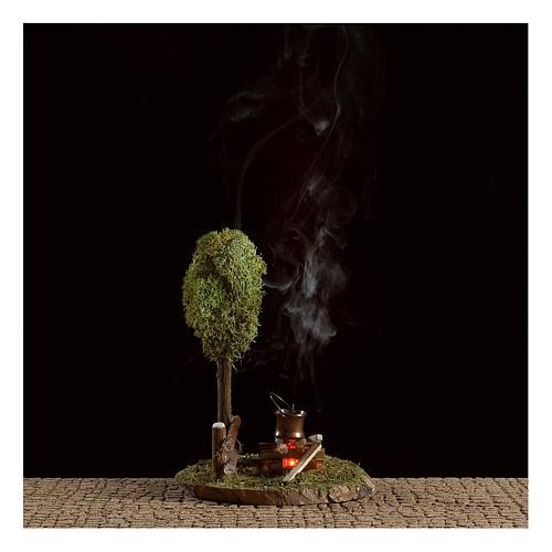 Scena bivacco e albero di lichene 2