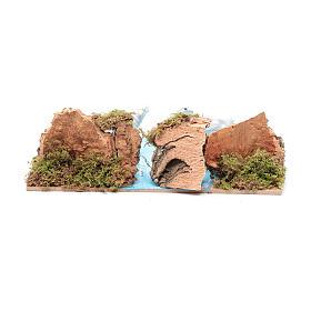 Ambientazione per presepe con pecore 5x20x15 cm s4