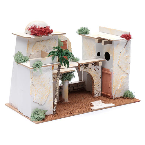 Casa árabe 20x35x20 cm ideal para estatua 7 cm 3