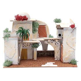 Maison arabe 20x35x20 cm pour santons 7 cm s1