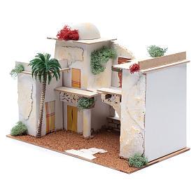 Maison arabe 20x35x20 cm pour santons 7 cm s2