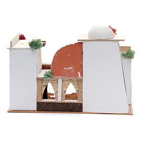 Maison arabe 20x35x20 cm pour santons 7 cm s4