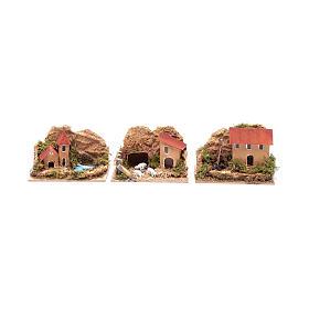 Set 6 pezzi case 15x10x10 cm s3
