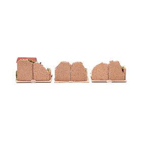Set 6 pezzi case 15x10x10 cm s4