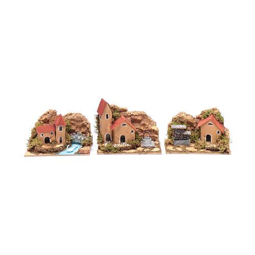 Set 6 pezzi case 15x10x10 cm 2