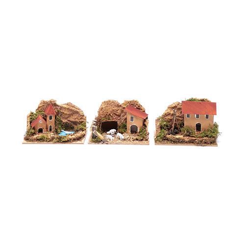 Set 6 pezzi case 15x10x10 cm 3