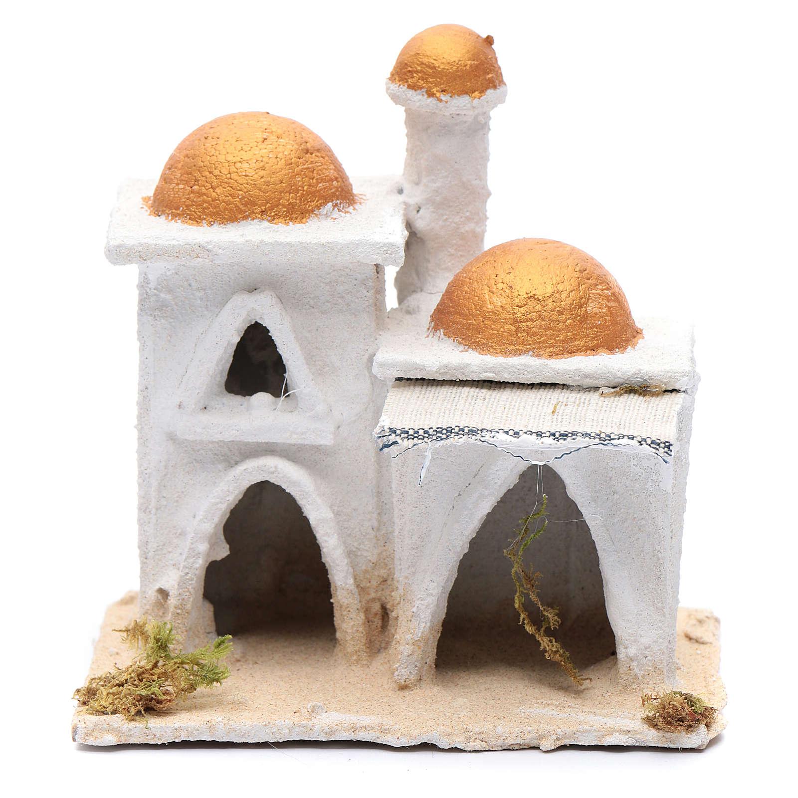 Casa araba bianca 15x15x10 cm 4