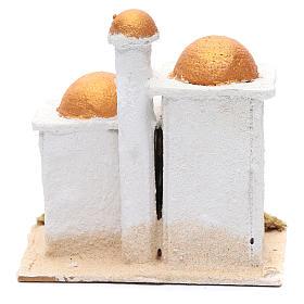 Casa araba bianca 15x15x10 cm s4
