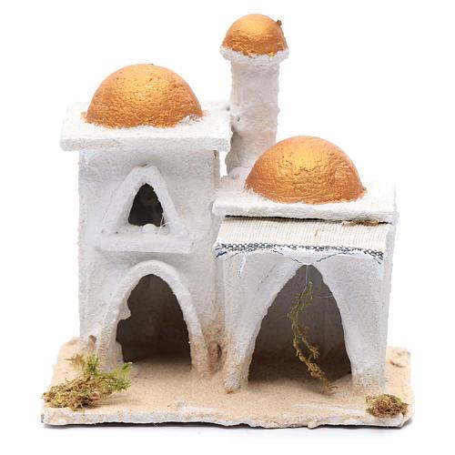 Casa araba bianca 15x15x10 cm 1