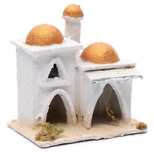 Casa araba bianca 15x15x10 cm 3