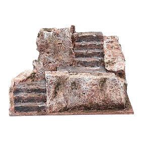 Stone stairway for Nativity Scene 10x20x15 cm s1