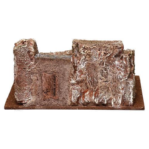 Escalier type rocheux crèche 10x24x17 cm 4