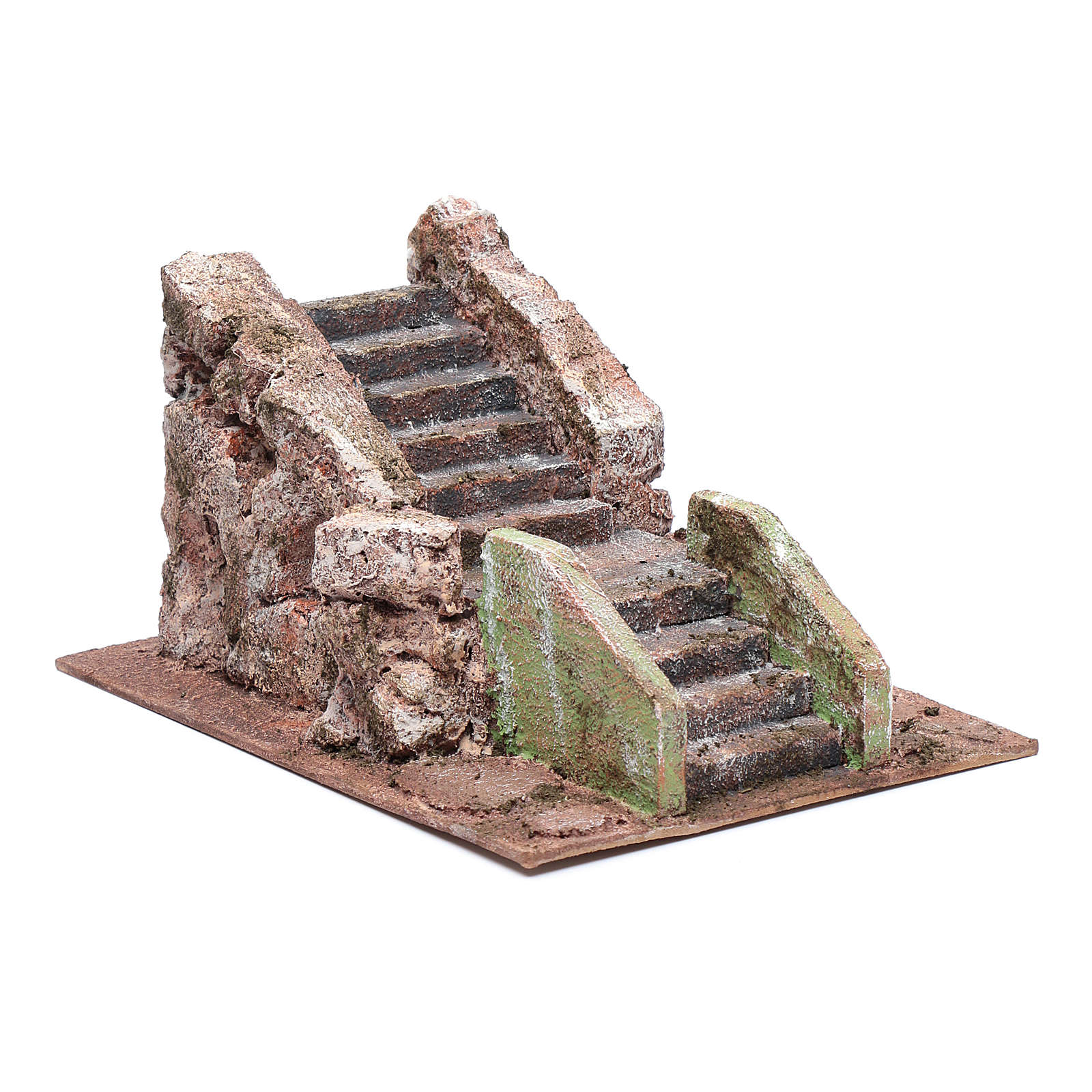 Alte Treppe für Krippe 10x15x25cm 4