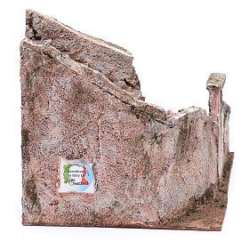 Freitreppe für Krippe mit Stein 15x15x25cm s4
