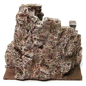 Escalera belén tipo roca 15x15x25 cm s4