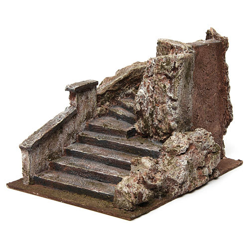 Escalera belén tipo roca 15x15x25 cm 2