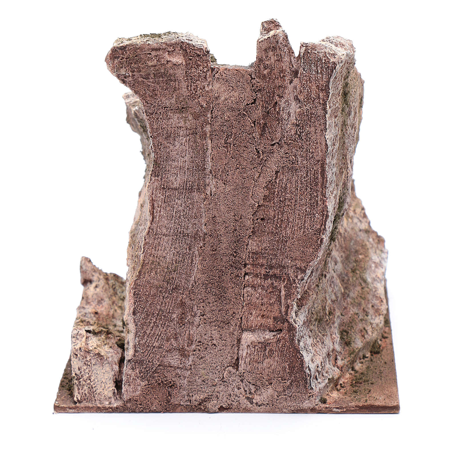 Scalinata antica tipo roccia presepe 20x20x25 cm 4