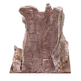 Scalinata antica tipo roccia presepe 20x20x25 cm s4