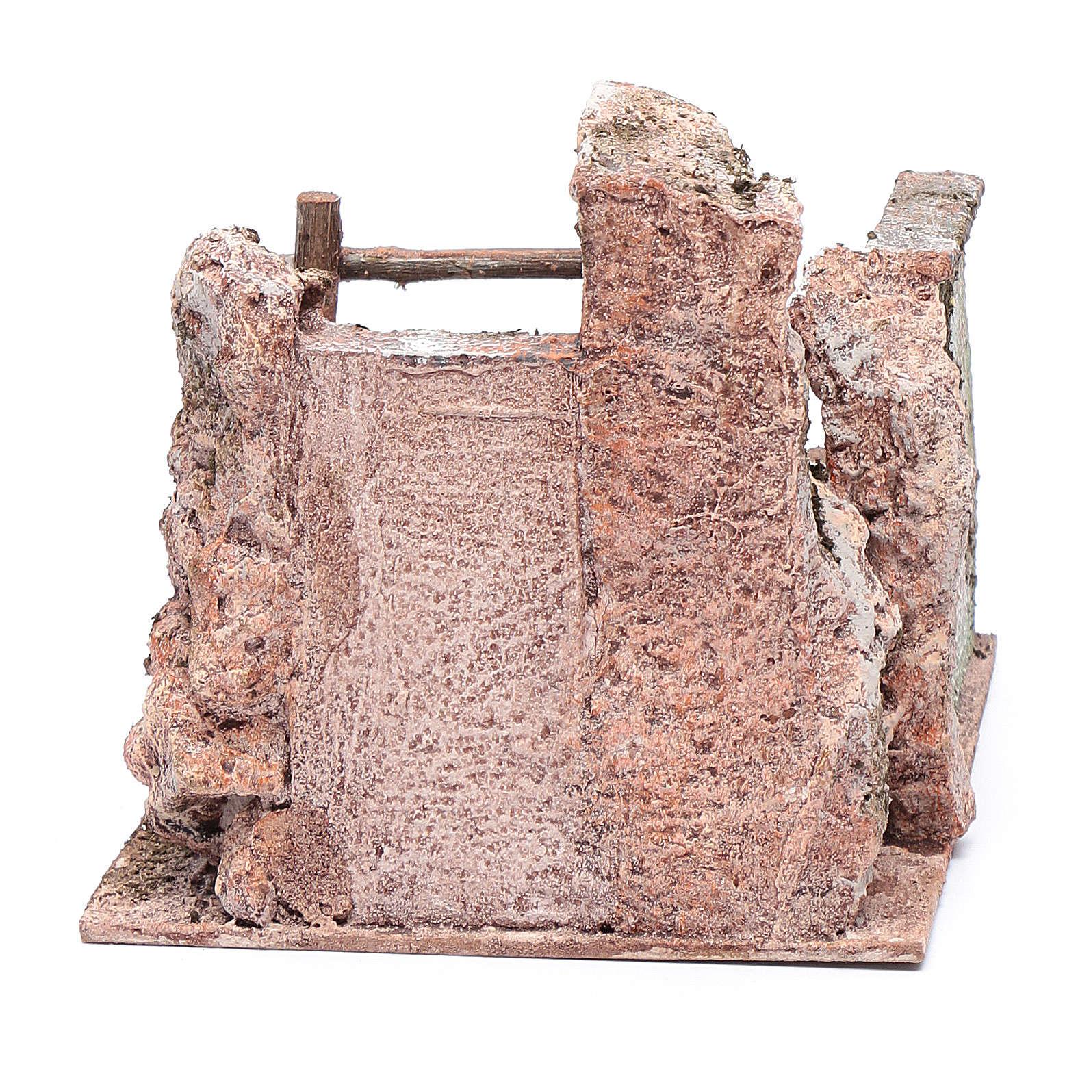Escalera belén derruida 15x20x15 cm 4