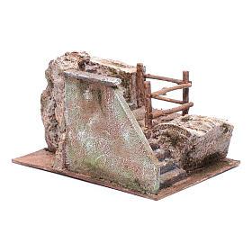 Treppe für Krippe auf Stein 15x20x25cm s3