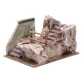 Scala presepe su roccia 15x20x25 cm s2