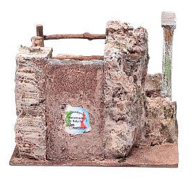 Scala presepe su roccia 15x20x25 cm s4