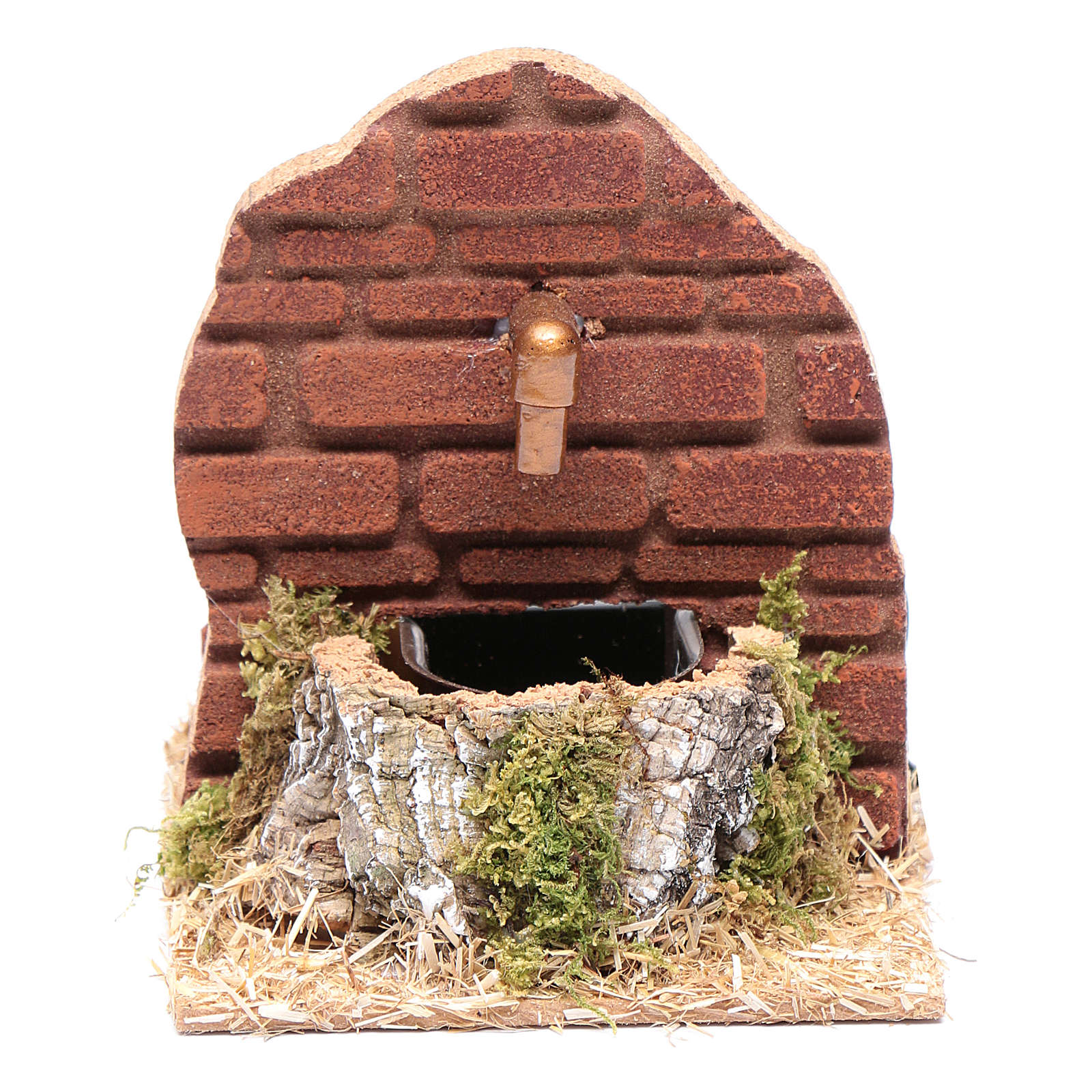 Fountain on wall with HK-200 pump nativity scene accessory 4