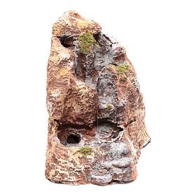 Río de resina belén napolitano 20x10x20 cm s1