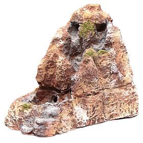 Río de resina belén napolitano 20x10x20 cm s2