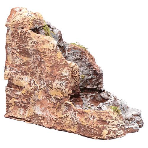 Ruscello in resina presepe napoletano 20x10x20 cm 3