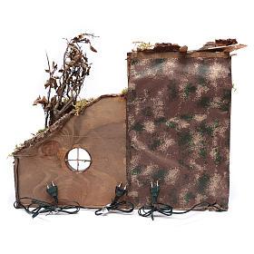 Décor arabe avec cabane 33x63x24,1 cm crèche de Naples s8