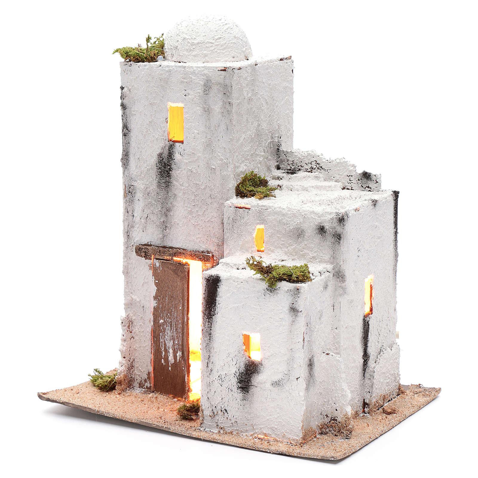 Casa árabe 30x25x15 cm belén napolitano 4