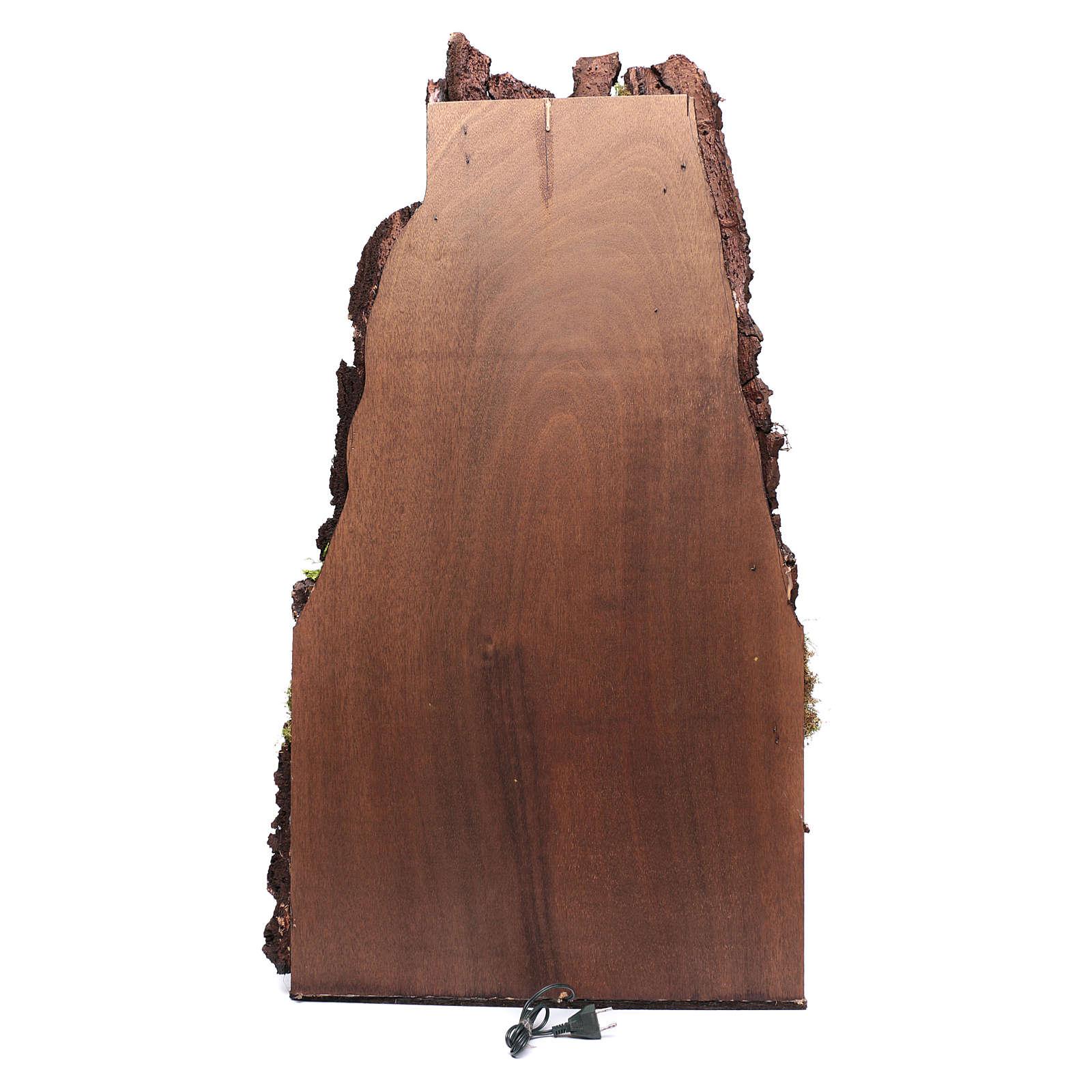 Ambientazione presepe 125x65x60 cm napoletano stile 700 4