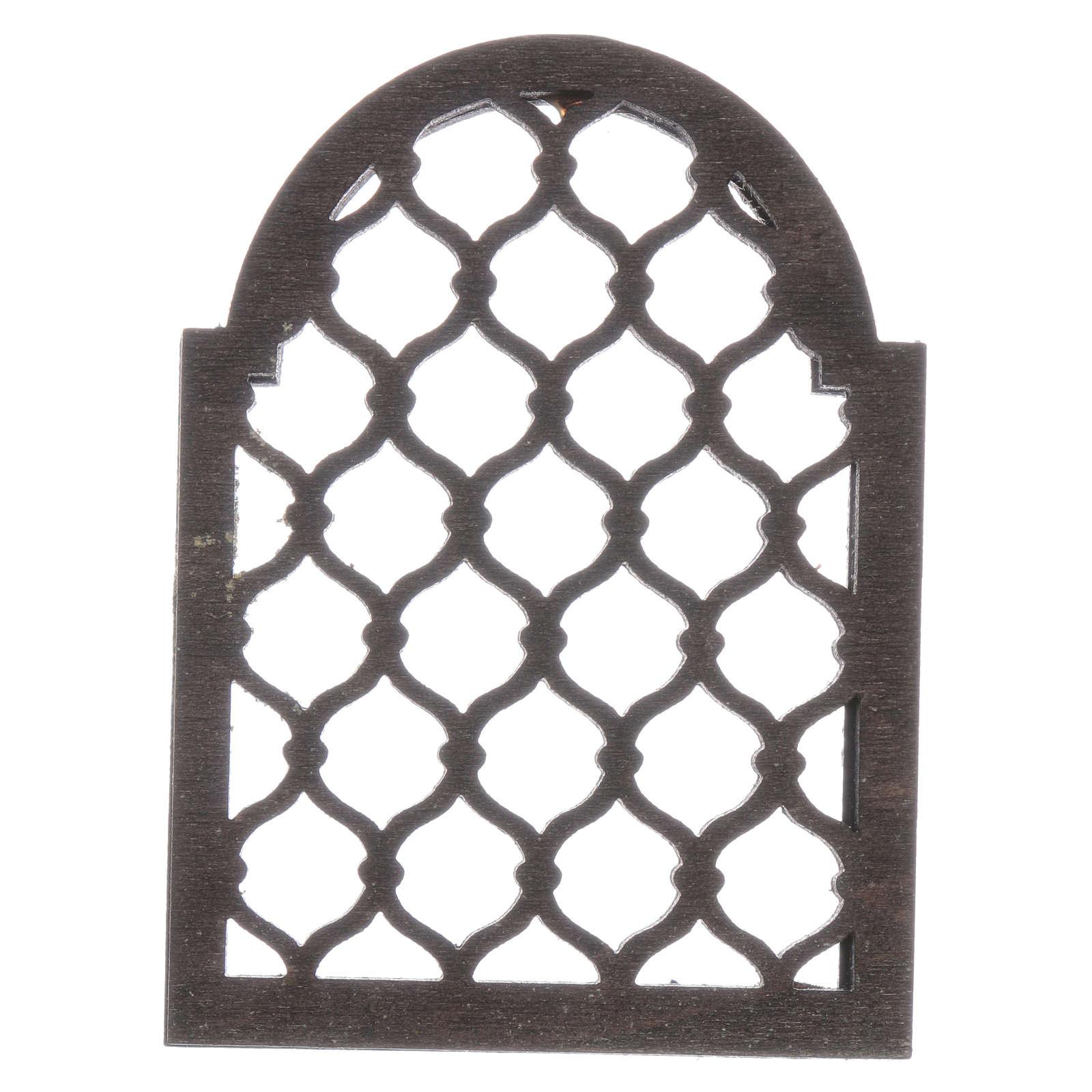 Neapolitan nativity scene accessory Arabian elaborated window 4