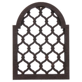 Belén napolitano: Accesorio belén napolitano hecho con bricolaje ventana árabe