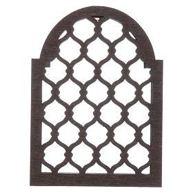 Accesorio belén napolitano hecho con bricolaje ventana árabe s2