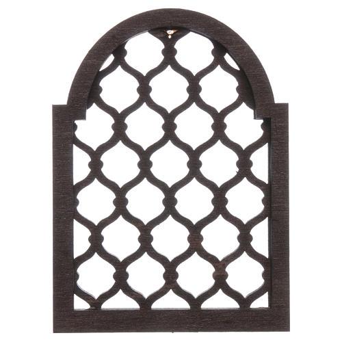 Accessoire crèche napolitaine bricolage fenêtre arabe 1