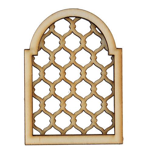 Neapolitan DIY nativity scene accessory Arabian elaborated window 1