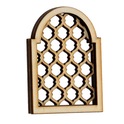 Neapolitan DIY nativity scene accessory Arabian elaborated window 2