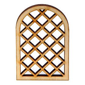 DIY nativity scene accessory Arabian window s1