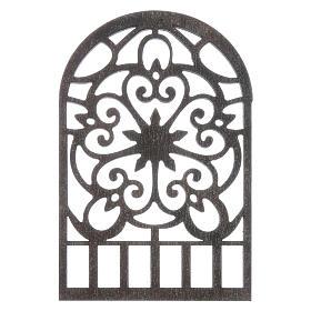 Presépio Napolitano: Acessório bricolagem presépio napolitano janela árabe decorada